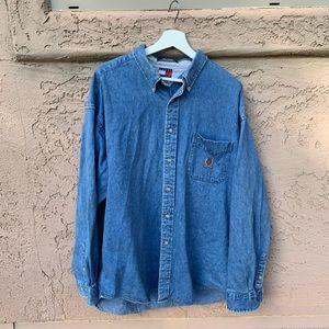 Vintage Tommy Hilfiger Denim Shirt